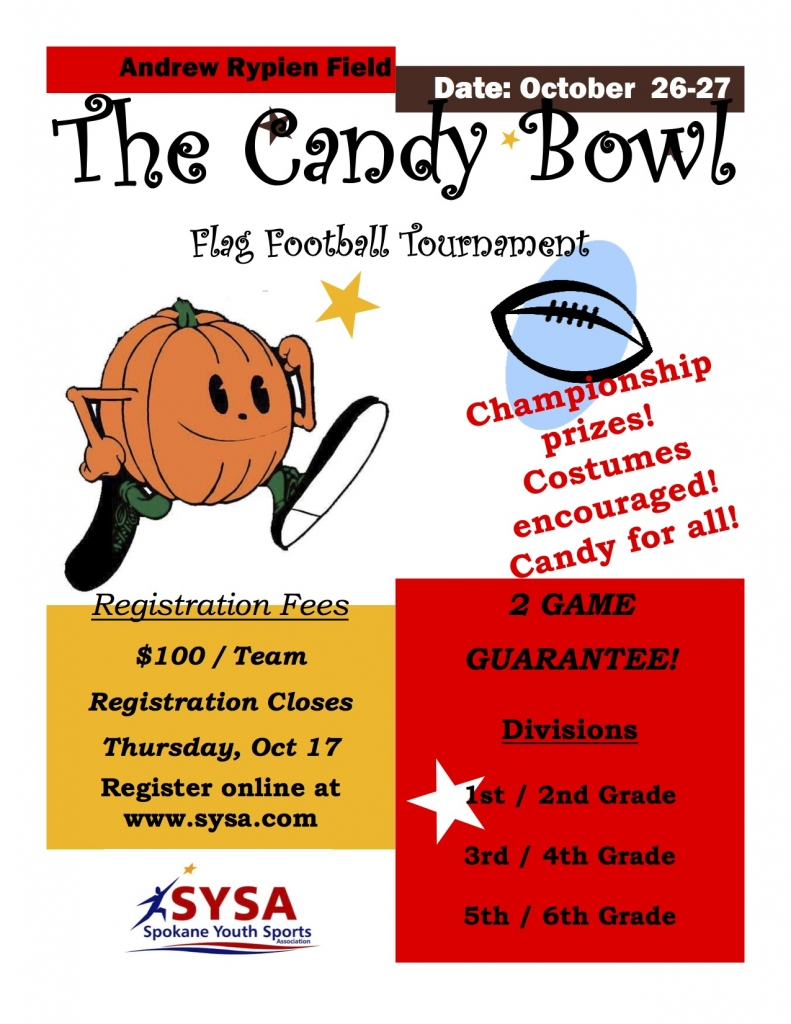 Candy Bowl Flyer