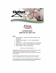 ClothesforCause-SYSA Flyer
